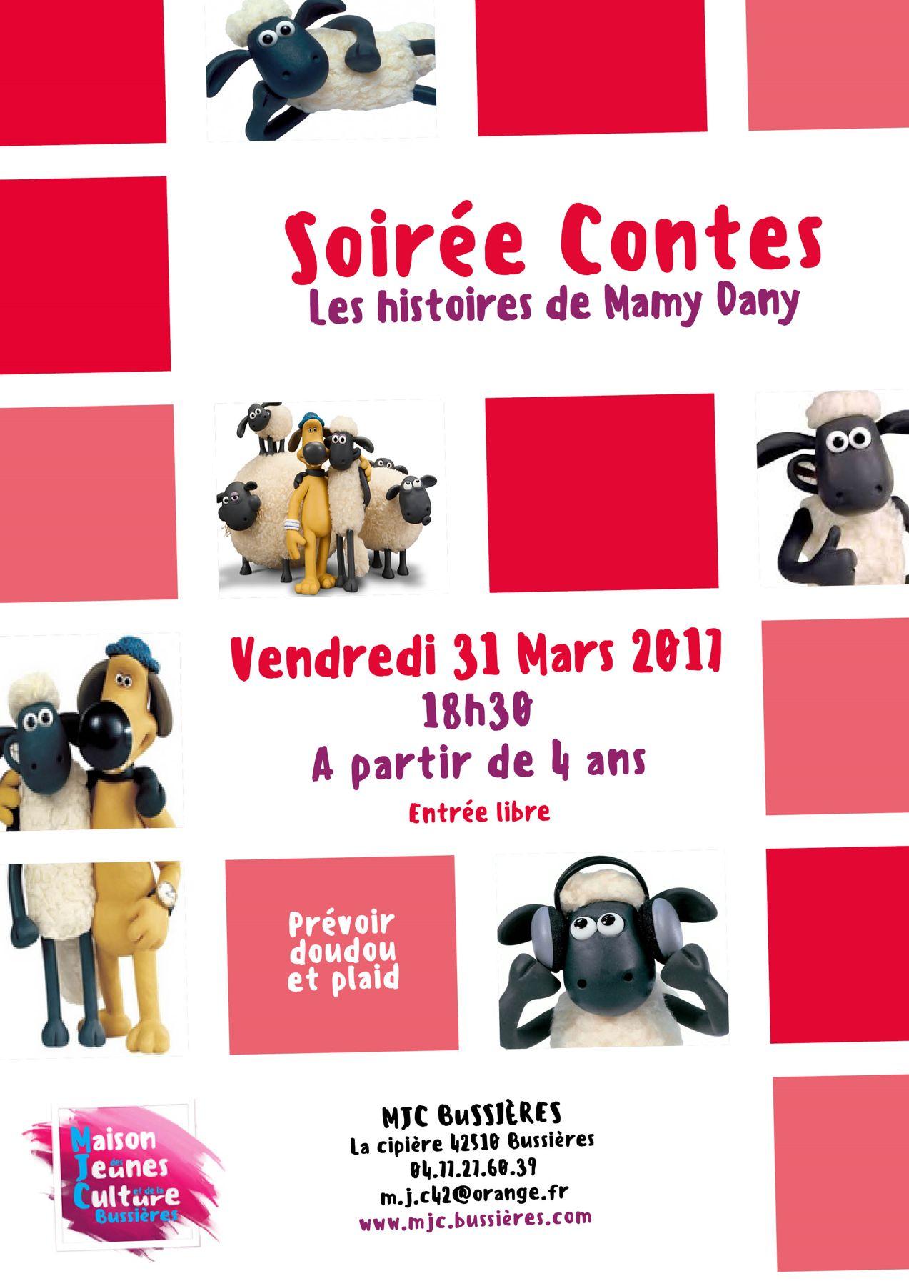 Soirée Contes - Racontée par Mamy Dany