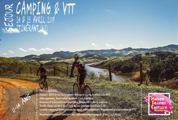 MJC Bussières - VTT Camping