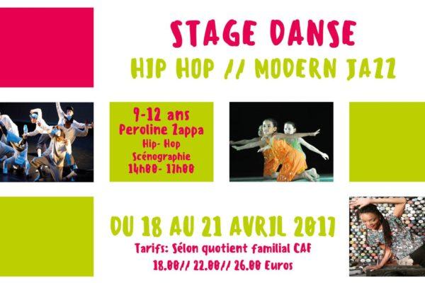 MJC Bussières Stage Danse Hip Hop Modern Jazz