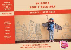 MJC Bussières - Programme été 2017 - Balbigny