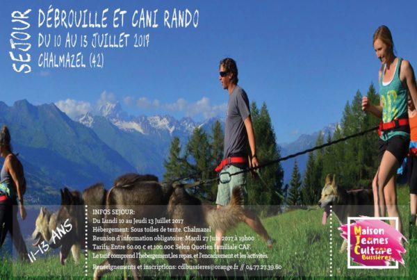 MJC Bussières - Débrouille et Cani-Rando