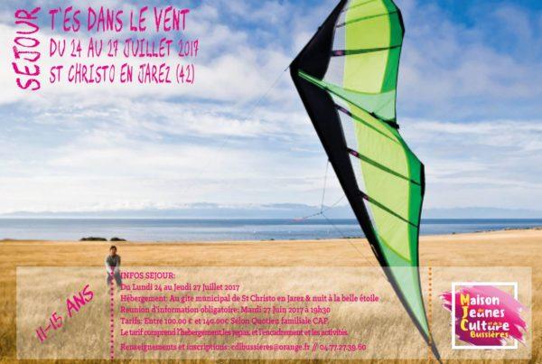 MJC Bussières - T'es dans le vent