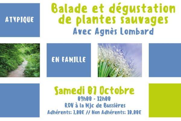 MJC Bussières - Balade Dégustation