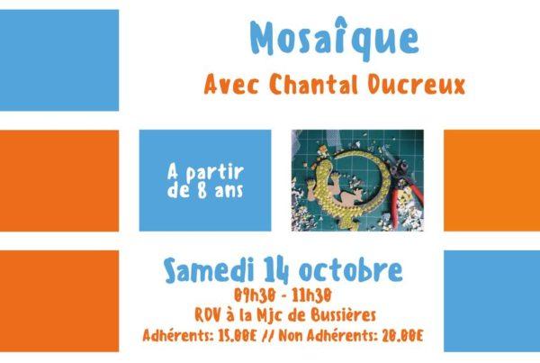 MJC Bussières - Mosaïque