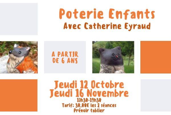 MJC Bussières - Poterie enfants