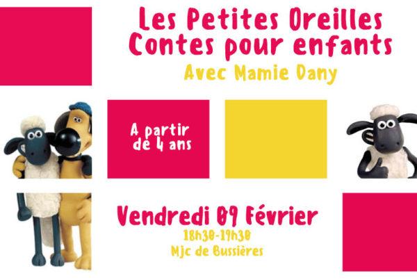 MJC Bussières - Les petites oreilles