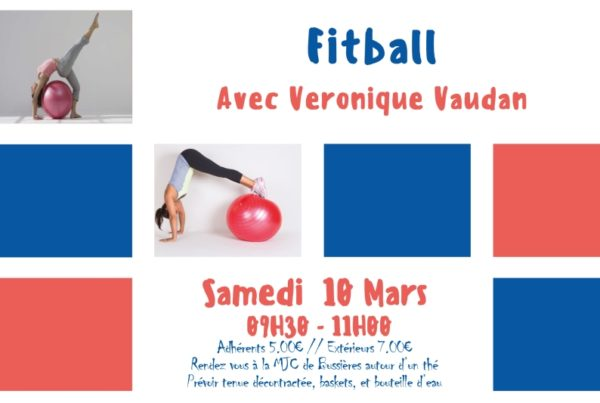 MJC Bussières - Fitball