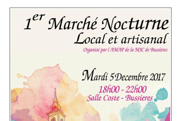 MJC Bussières - Marche Nocturne