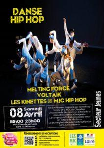 Spectacle Danse Hip Hop MJC Bussières