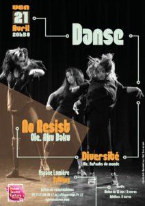 MJC Bussières Danse Aku Daku Diversité