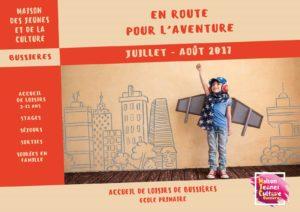 MJC Bussières - Programme été 2017 - Bussières
