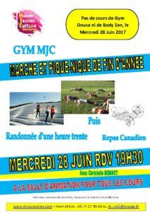 MJC Bussières - Marche - Pique Nique