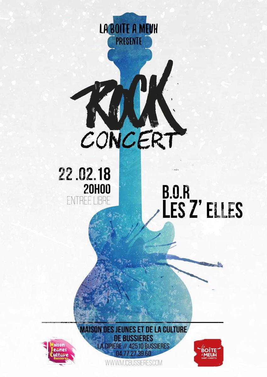 MJC Bussières - Rock Concert