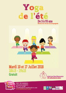 MJC Bussieres - Yoga - Session Familles