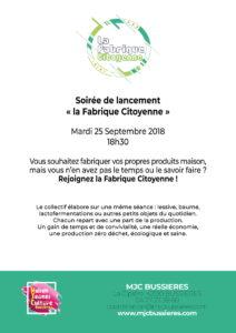 MJC Bussières - Fabrique Citoyenne