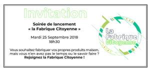 MJC Bussières - Fabrique Citoyenne Invitation