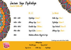 MJC Bussières - Déroulé Yoga