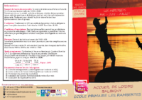 Programme MAI JUIN JUILLET