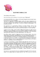 Rapport Moral 2018