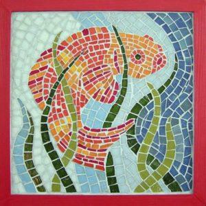 MJC Bussières - Mosaique Poisson