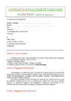 Contrat AMAP Pain 2019 2020