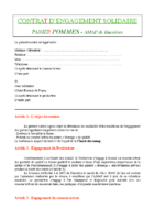 Contrat AMAP Pommes 2019 2020