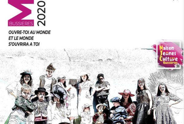 MJC Bussières - Image Plaquette 2020 - 2021