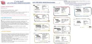 MJC Bussières - Plaquette Résumé