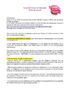 MJC Bussières – Protocole parents Mercredis