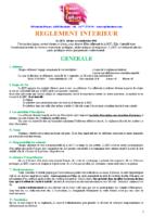 MJC Bussières – Règlement 2020-2021 MJC