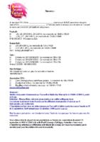 MJC Bussières – Fiche Navette – 2021-2022