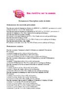 MJC Bussières – Permanences inscription – 2021-2022