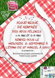 MJC Bussières - Pique-nique - Ados Félinois